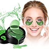 Collagen Under Eye Patches,30 Pairs Under Eye Gel Pads Eye Mask Treatment with Anti-Aging Hyaluronic Acid For Moisturizing & Reducing Dark Circles Puffiness Wrinkles Fine Lines for Women and Men