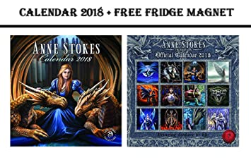 Kühlschrank Kalender : Anne stokes offizieller kalender celebrity kühlschrank