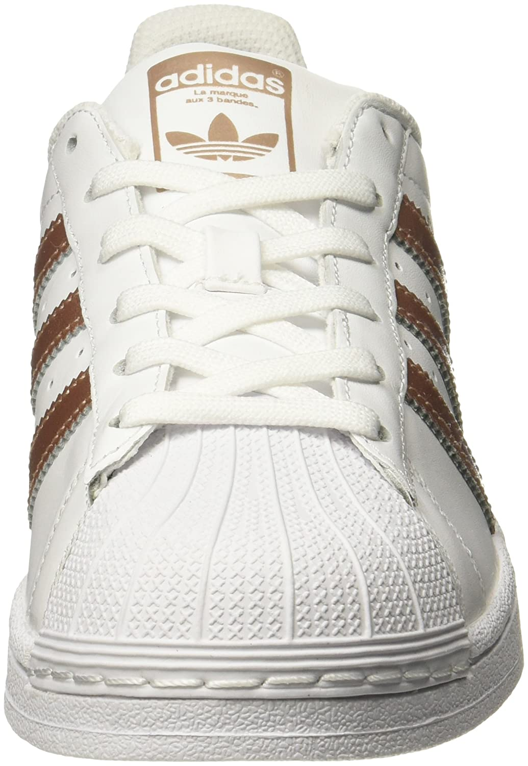 6ccff6e1d524 adidas Women s Superstar W Low-Top Sneakers White  Amazon.co.uk  Shoes    Bags