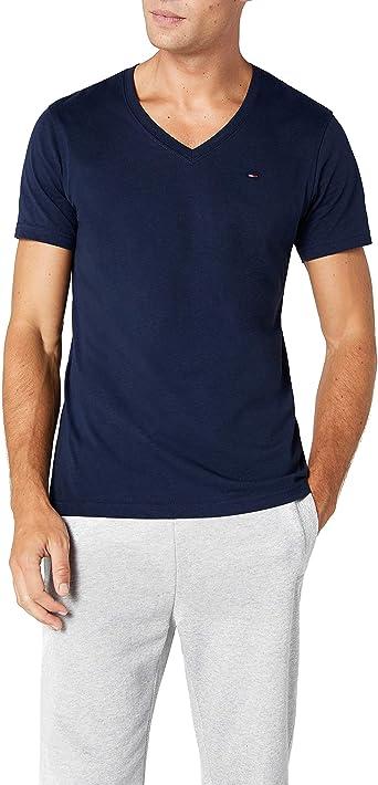 Tommy Hilfiger Original vn Knit s/s Camiseta para Hombre: Amazon ...