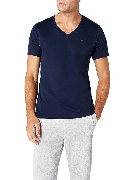 84784fe5f80 Tommy Hilfiger Original Vn Knit S S - Camiseta para Hombre  Amazon.es  Ropa  y accesorios