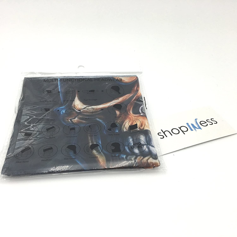 Cards ShopINess/® Multifunctional Headwear Bandana Skull