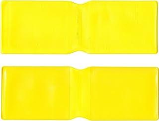 HappyOyster 1x Giallo plastica Oyster/Portafoglio Porta Carte di Credito/Carta d' identità/Biglietti da Visita/Pass di Viaggio–Made in The UK
