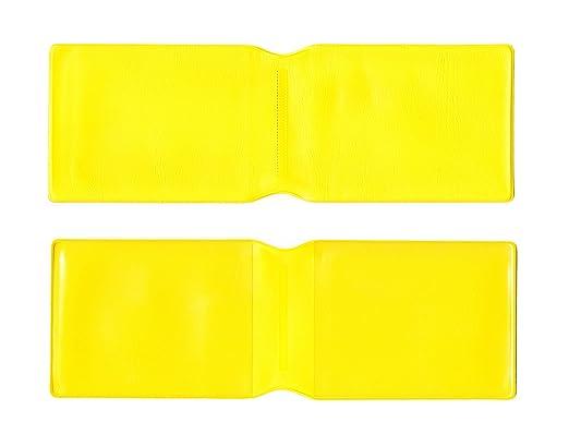100 x plástico Amarillo Tarjeta Oyster Tipo Cartera/Cartera ...