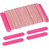Tbestmax 200 Disposable Mini Nail File Bulk 3.4 inch Double Sided Emery Boards for Fingernail Tools 150 Grit