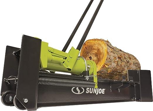 Amazon.com : Sun Joe LJ10M 10-Ton Hydraulic Log Splitter, Green : Garden & Outdoor