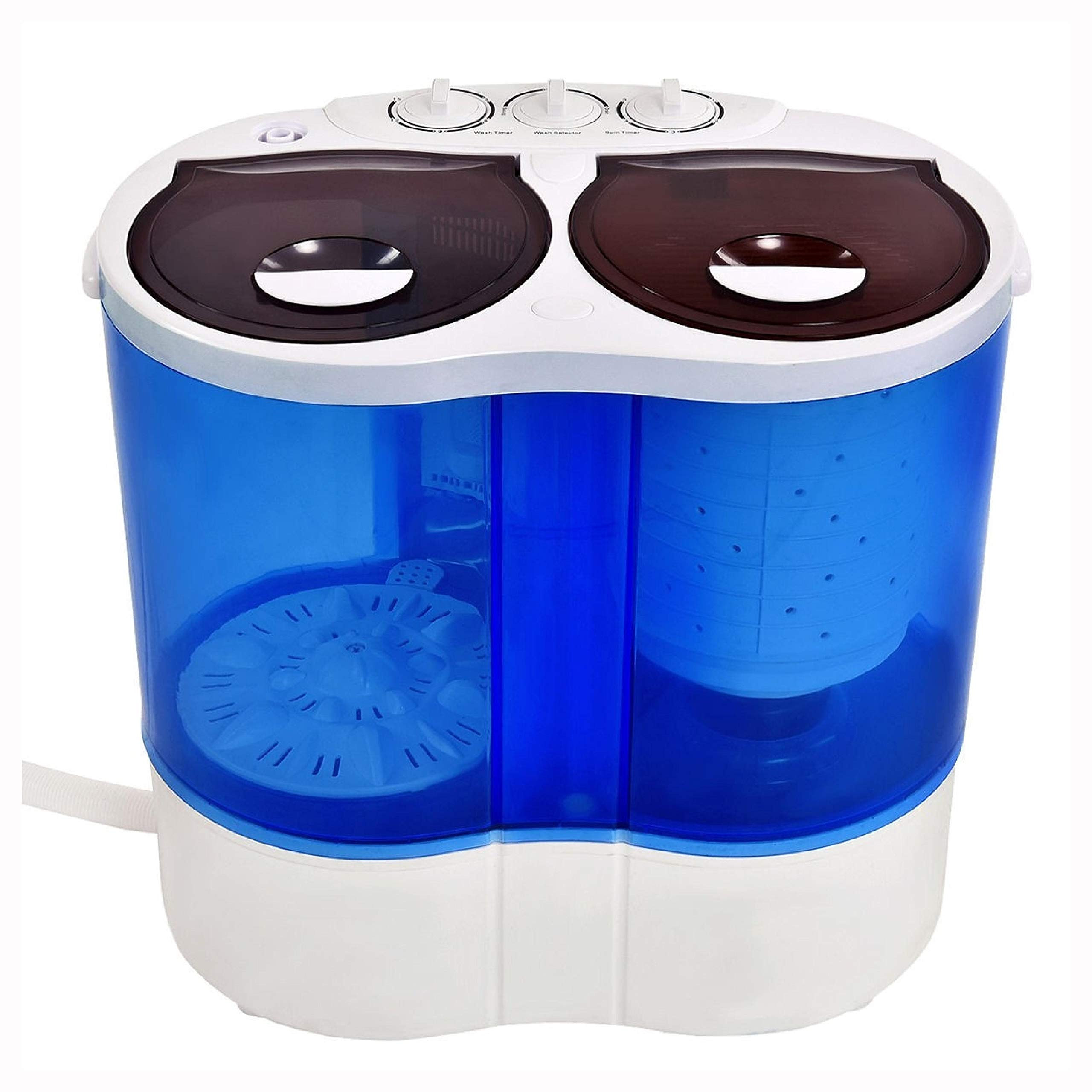 Washing Machine, 15 lbs Portable Compact Twin Tub Mini Washing Machine by HomyDelight (Image #2)