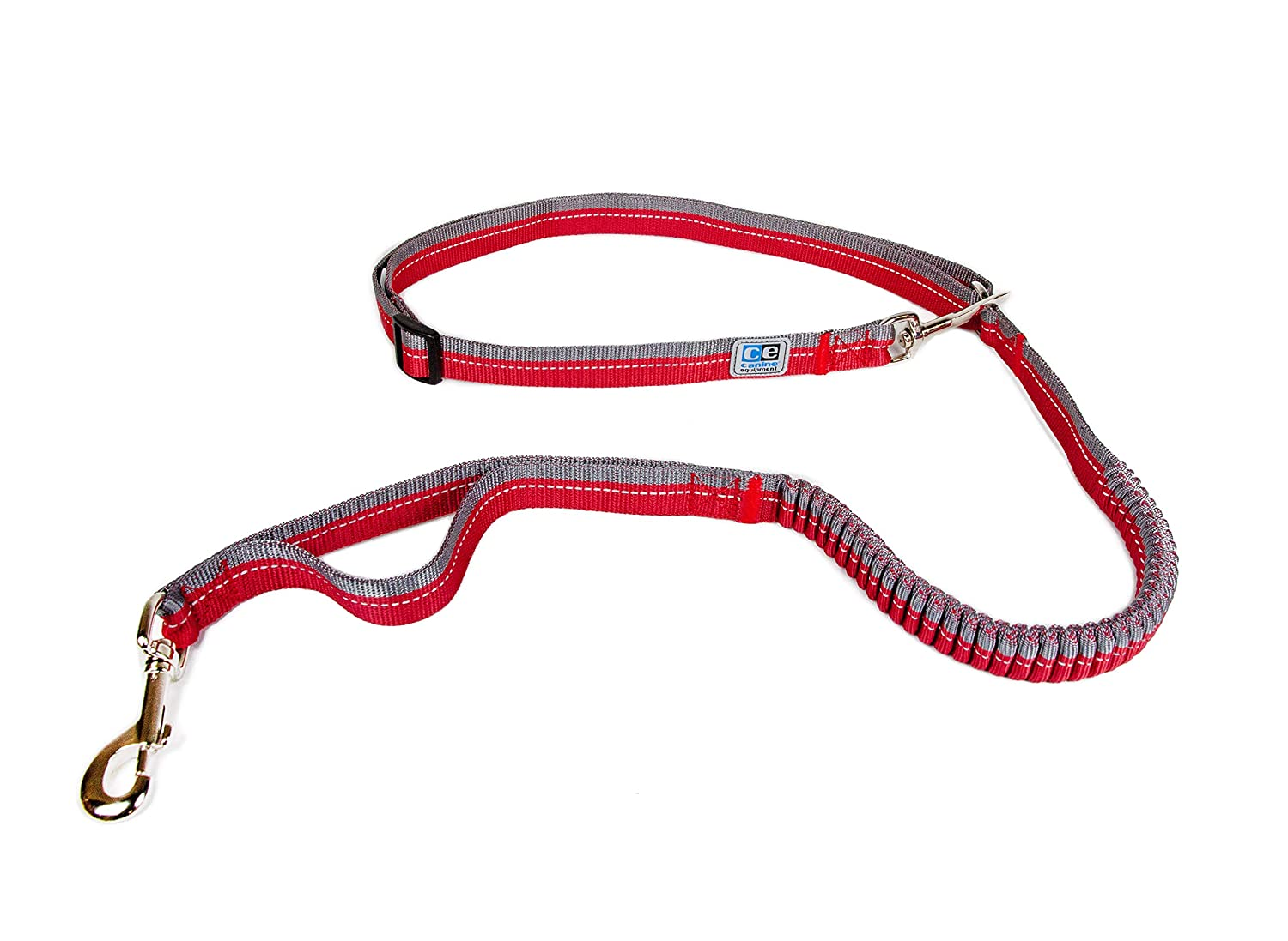 Red Canine Equipment 75310002 Ultimate 1  Bungee Active 3-in-1 Dog Leash, One Size