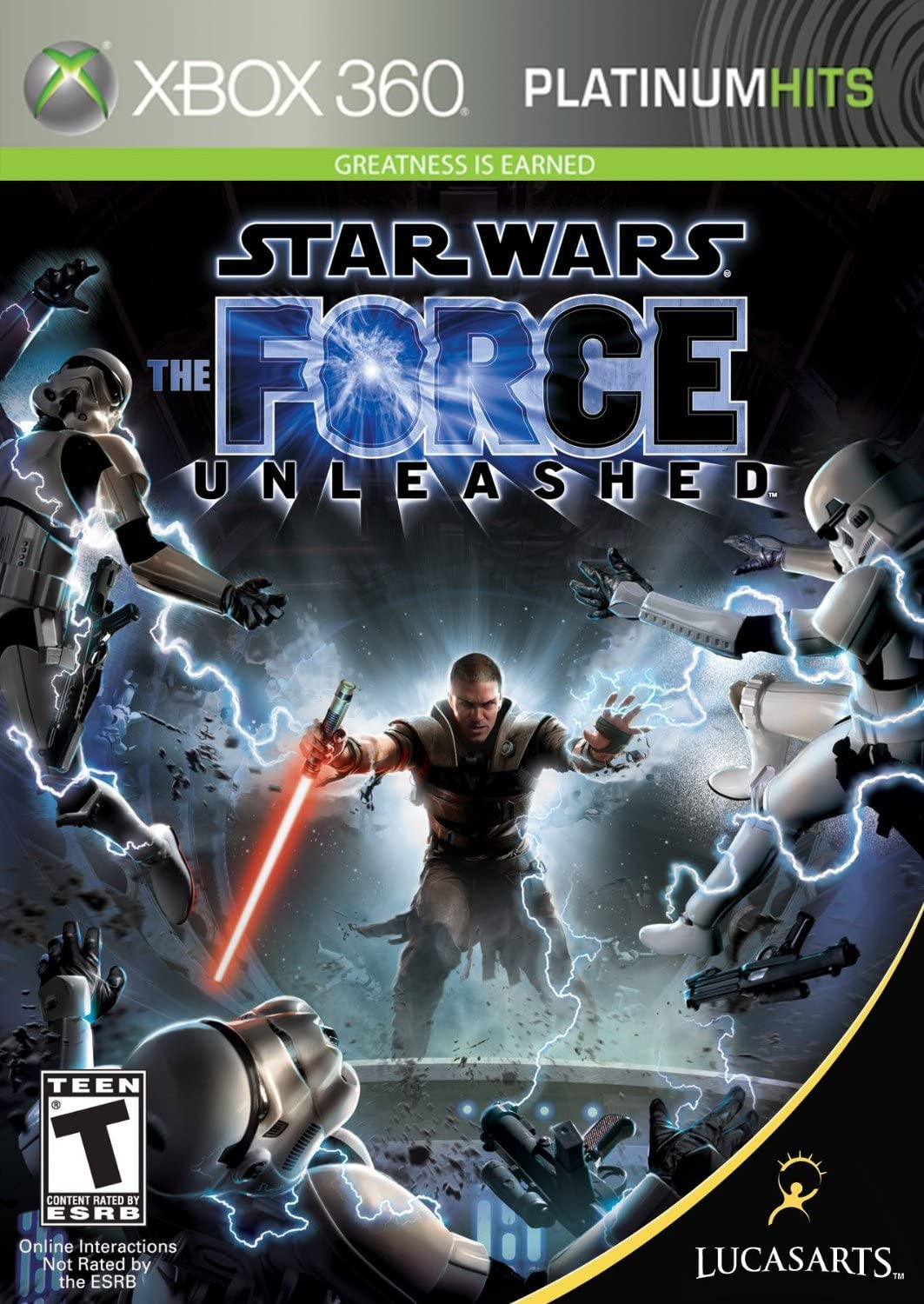amazon com star wars the force unleashed xbox 360 artist not