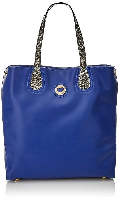 Lola Casademunt Alessia, Sac à main pour femme, Azul (Blue), 16x34x32 cm (W x H L)