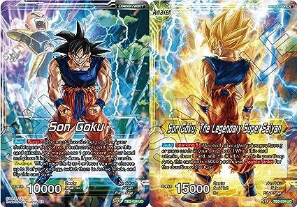 Amazon.com: Dragon Ball Super TCG - Son Goku // Son Goku ...