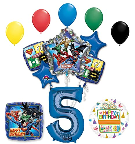 Amazon The Ultimate Justice League Superhero 5th Birthday Party