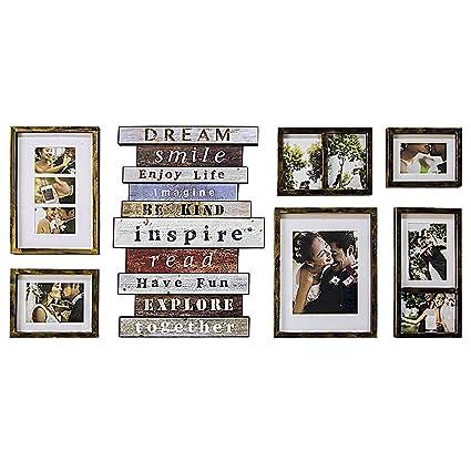 Jerry U0026 Maggie   Luxury 7 Piece Of | Photo Frame | Wall Decor Bar