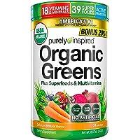 Purely Inspired Super Greens Pulver mit Superfoods und Multivitaminen