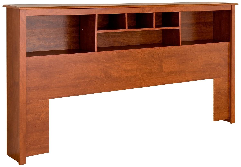 Prepac CSH-8445 Monterey Storage Headboard, King, Cherry