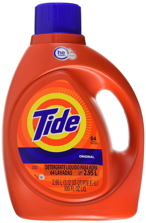 Tide Detergente L Quido Para Ropa 64 Lavadas Original 2 95l  ~ Mejor Detergente Lavadora Calidad Precio