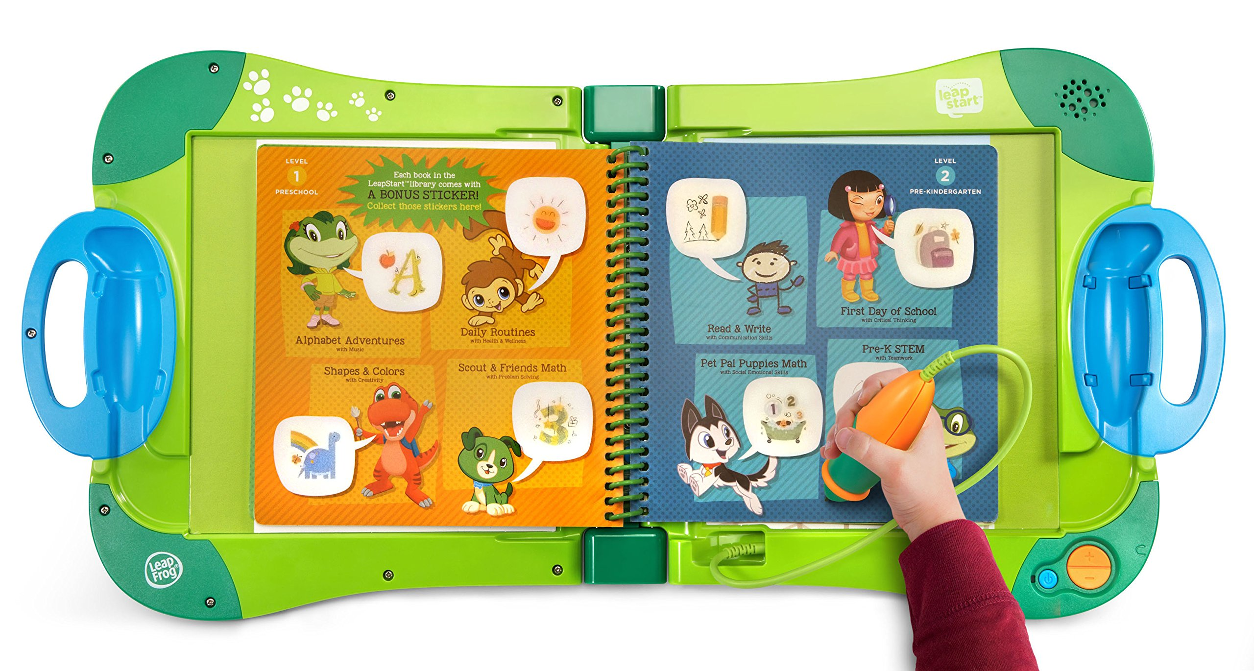 LeapFrog LeapStart Interactive Learning System Preschool and Pre-Kindergarten My Pal Scout by LeapFrog (Image #4)