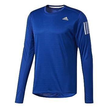 Adidas RS LS tee M Camiseta de Manga Larga, Hombre: Amazon.es: Deportes y aire libre