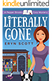 Literally Gone (A Pepper Brooks Cozy Mystery Book 3) (English Edition)