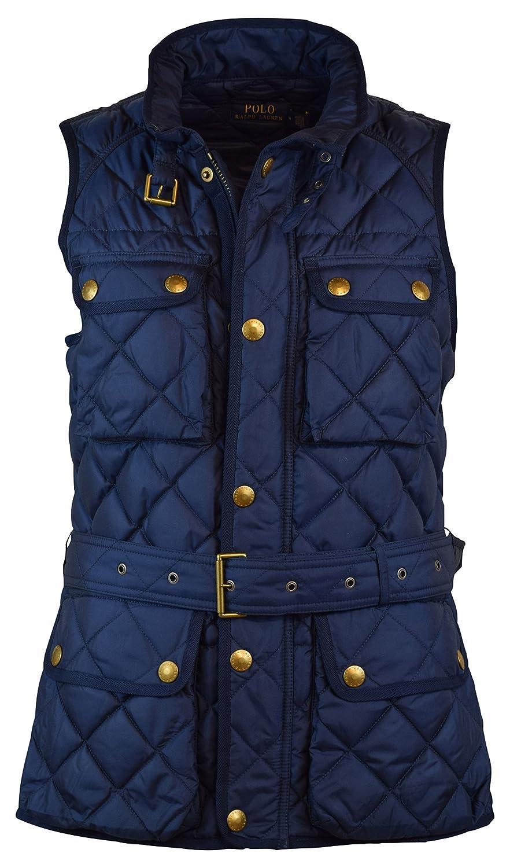 Polo Ralph Lauren Womens Down Filled Quilted Vest - XL - Buck Tan at Amazon Women\u0027s  Coats Shop