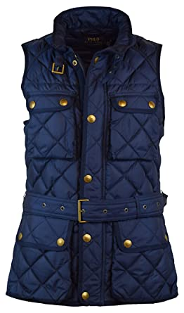 Vest Down Ralph Filled Womens Quilted Lauren Polo f6vbymgIY7