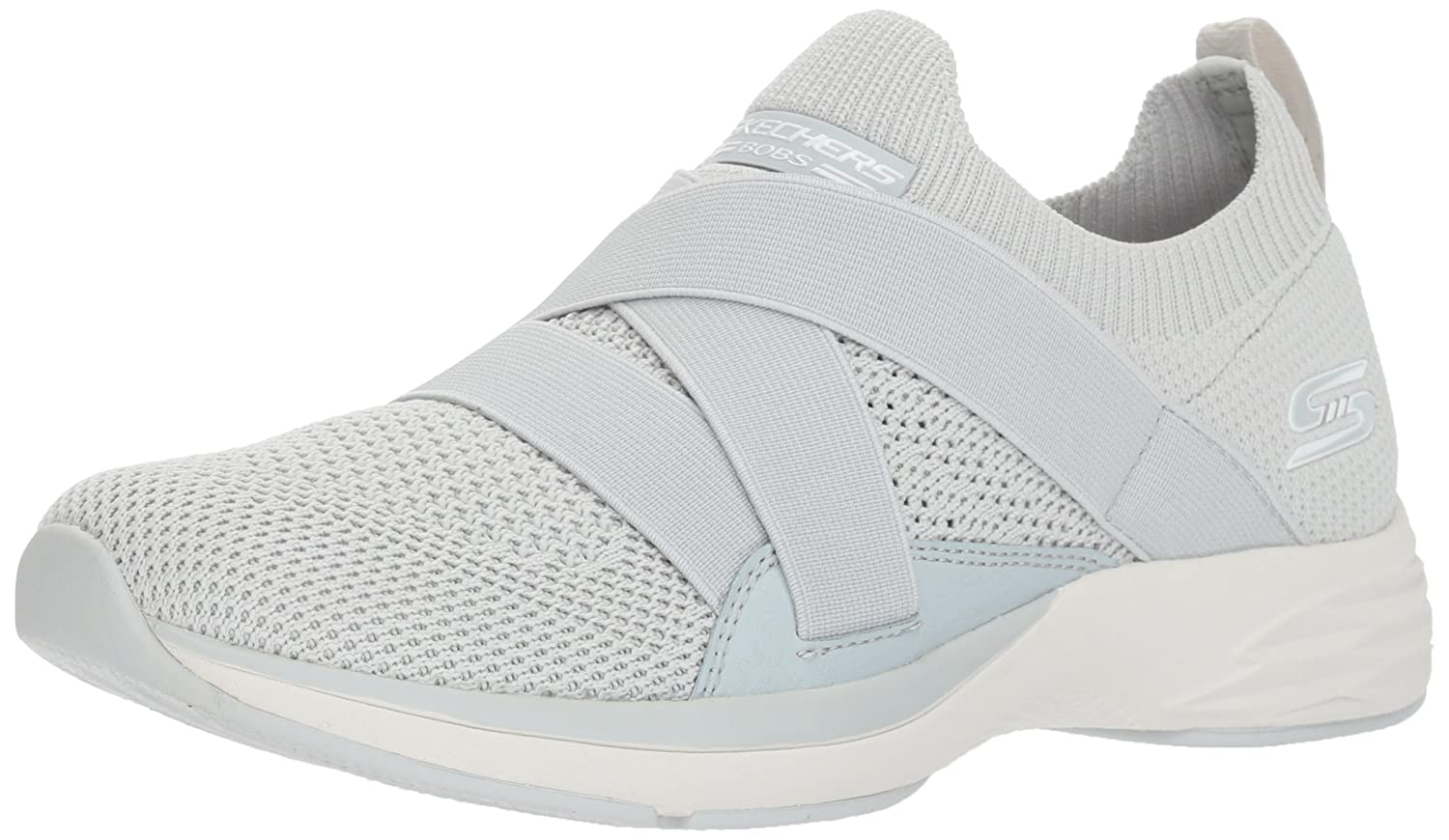 Skechers BOBS from Women's Bobs Clique Sneaker B078C948WR 5 M US|Ltgy