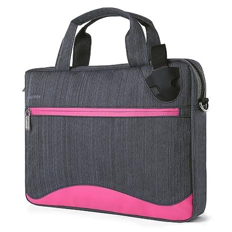 af88eb7772f Amazon.com: Wave 2-in-1 Universal Messenger Bag + Briefcase for 12 ...