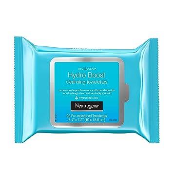 Amazon.com: Neutrogena Hydroboost toallitas limpiadoras ...