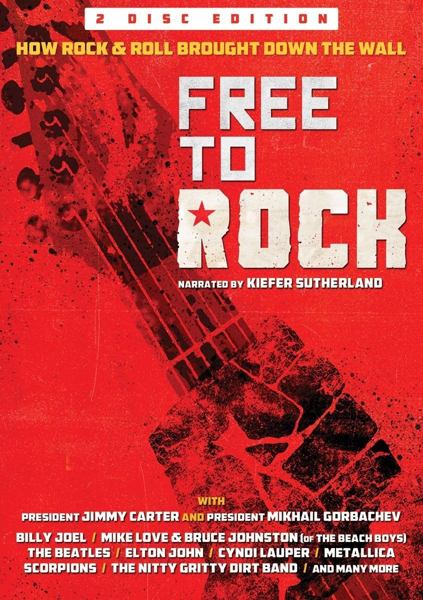 Kiefer Sutherland - Free To Rock: How Rock & Roll Brought Down Wall (2PC)