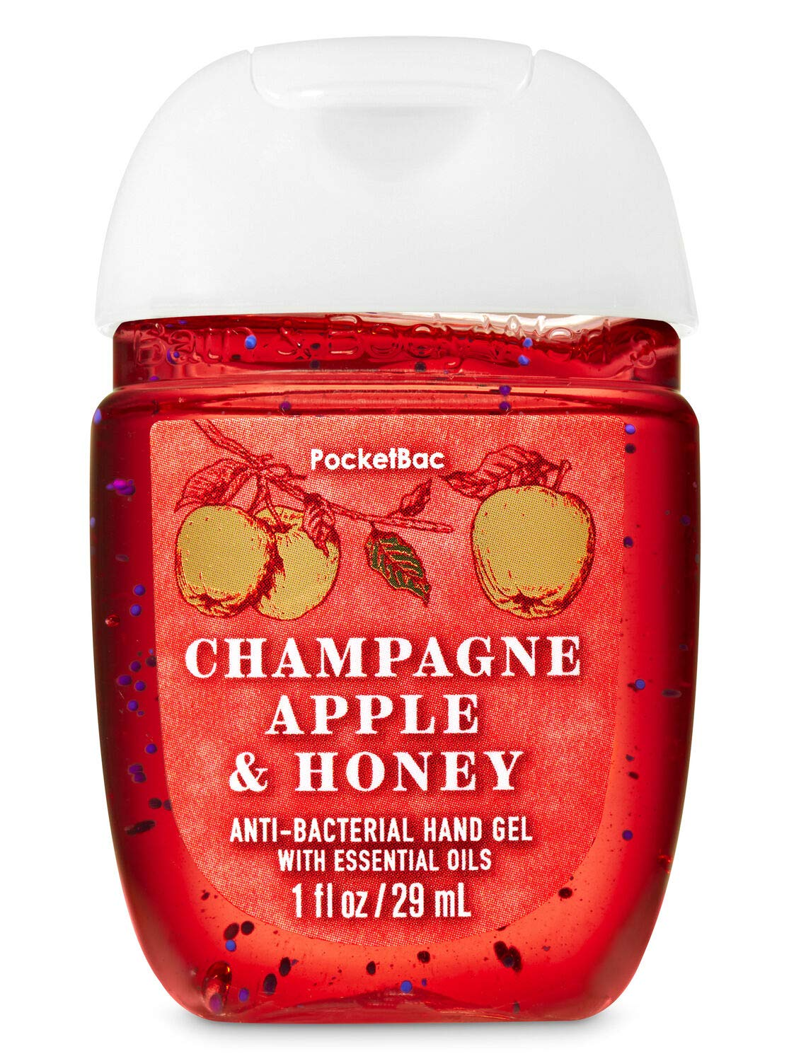 Hand Sanitizer 1 fl oz - Many Scents! (packaging may vary) (Champagne Apple & Honey)