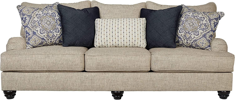 Amazon.com: Signature Design by Ashley - Reardon Sofa, Stone ...