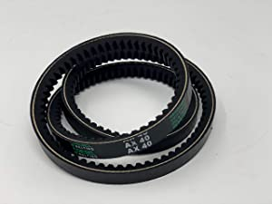 AX40 Classic Cogged V-Belt 1/2 x 42in Outside Circumference