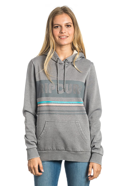 RIP CURL Active Stripe FleeceSweat-Shirt pour Femme Frost Grey XXS 69-GFEEL4