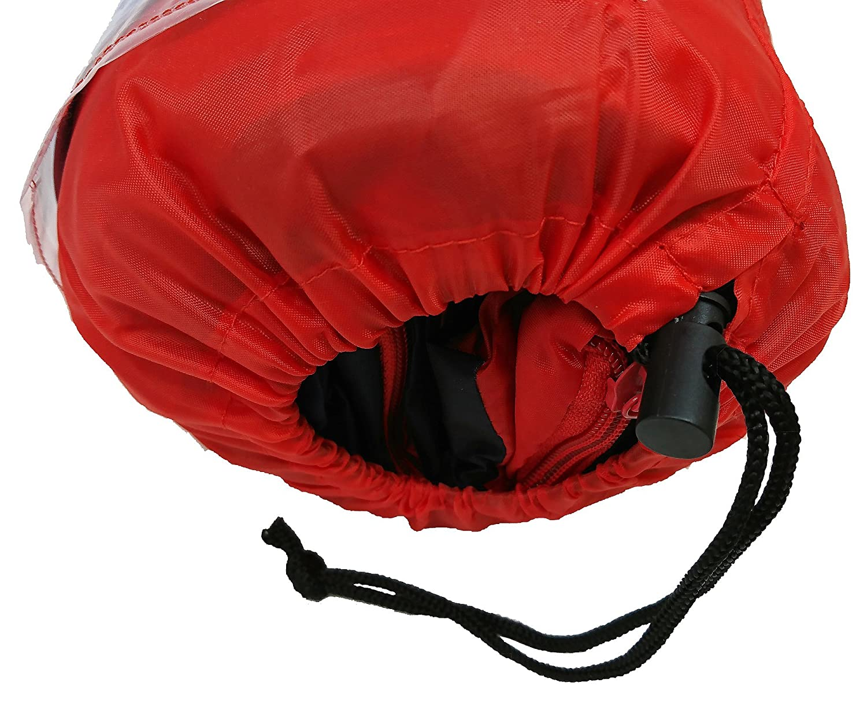 Pyjamsques 46913-S Sleeping Bag Blue//Red//Green