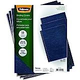 Fellowes Binding Grain Presentation Covers, Letter, Navy, 50 Pack (52124)