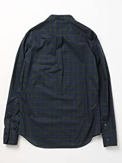 No Collar Shirt 11-11-2267-107: Black Watch