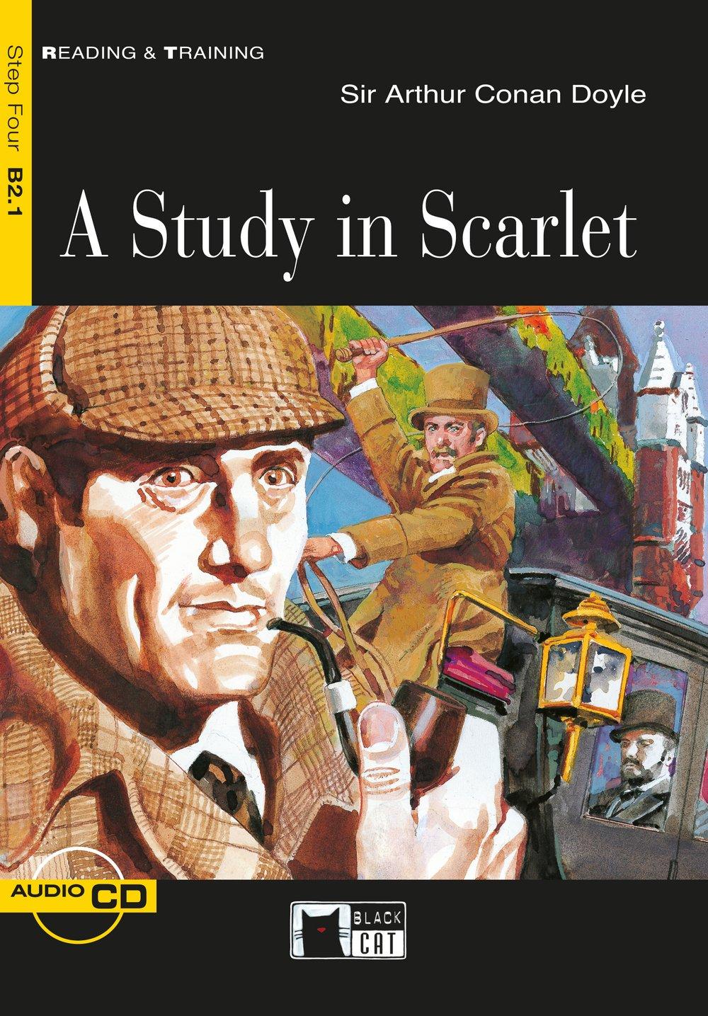 A Study in Scarlet: Englische Lektüre für das 5. und 6. Lernjahr. Buch + Audio-CD (Reading & training)