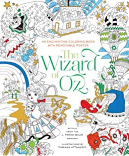 The Wizard Of Oz Coloring Book Fabiana Attanasio