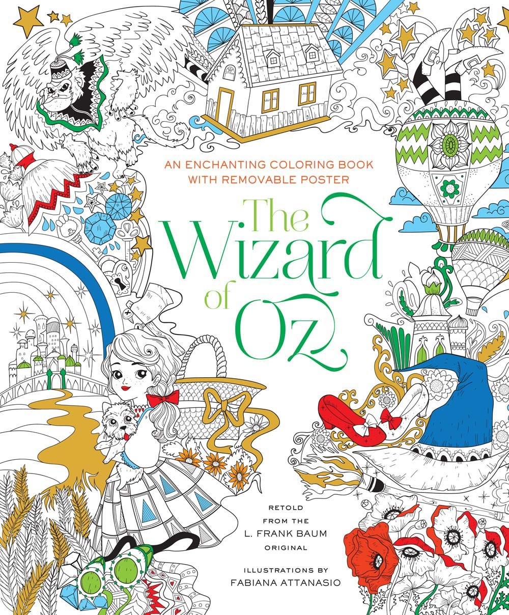A isforAfroWizard of oz coloring pages free - Coloring Pages ... | 1208x1000