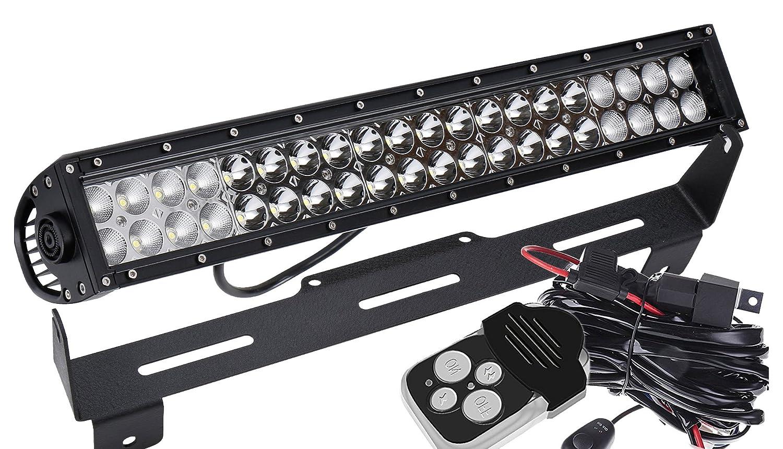 Ford super duty light bar & ford super duty light bar mount bracket