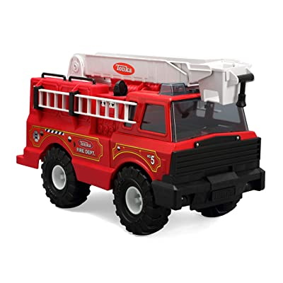 Tonka Classic Steel Fire Engine Vehicle: Toys & Games