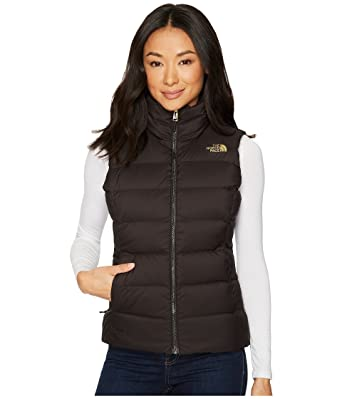 bed2276dc7 The North Face W Nuptse Vest TNF Black  TNF Black Brighlights Print Womens S