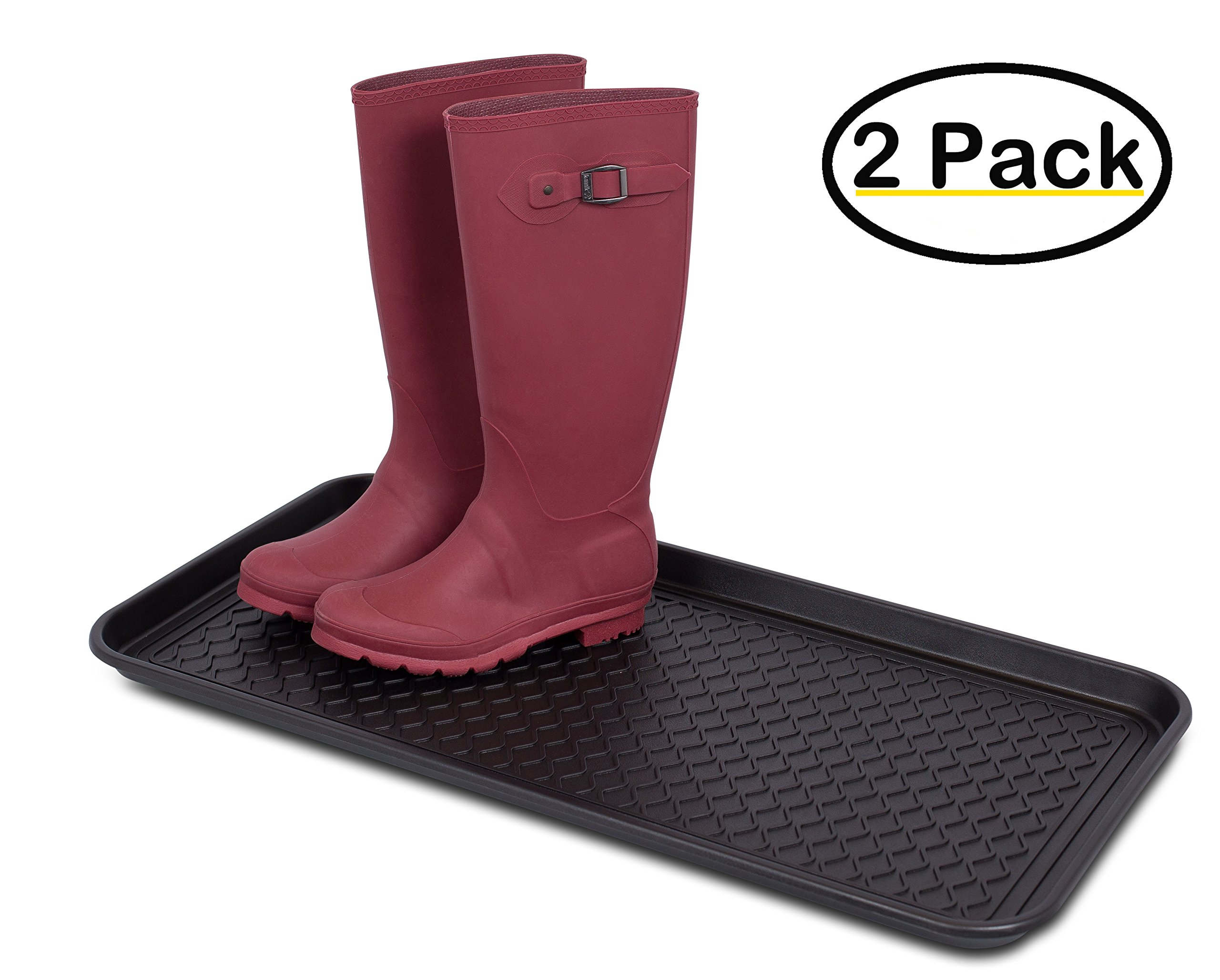 Internet's Best Waterproof Multi-Purpose Polypropylene Tray, 30-Inch-by-15-Inch, Rectangle