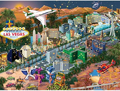Bits /& Pieces-300 Large Piece Puzzle-Washington D.C City View-by Joseph Burgess