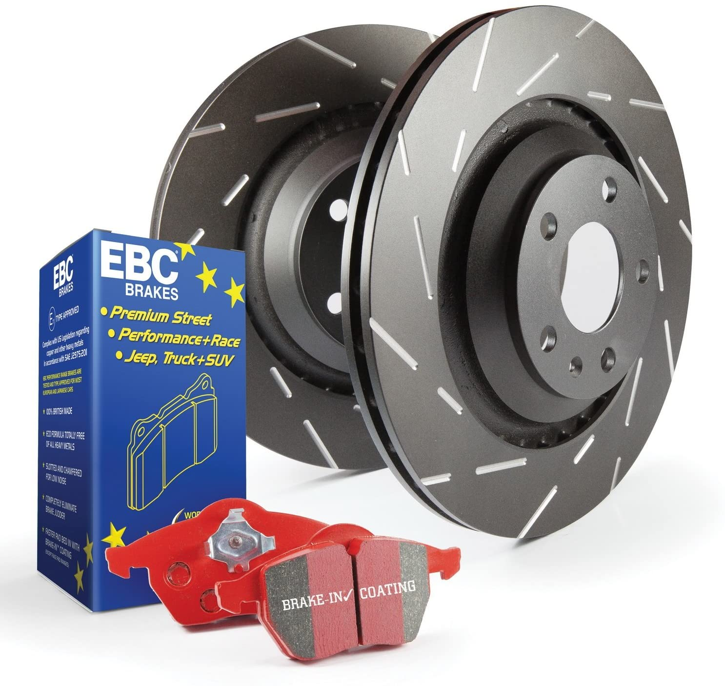 EBC S4KF1229 Stage-4 Signature Brake Kit