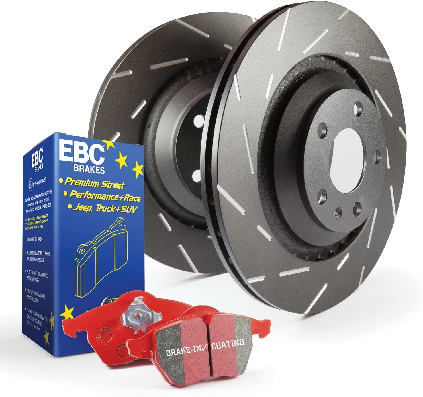 EBC S4KR1151 Stage-4 Signature Brake Kit