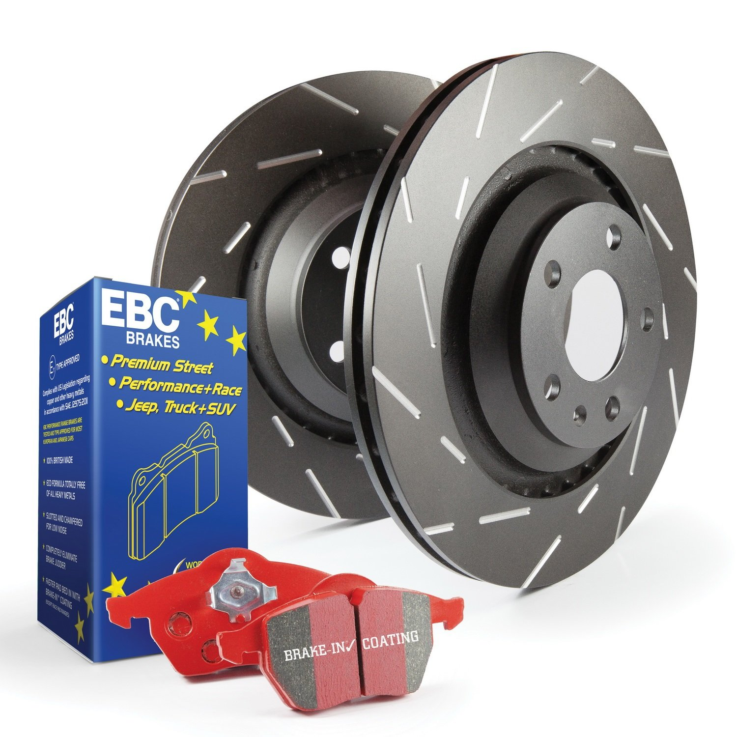 EBC S4KR1175 Stage-4 Signature Brake Kit