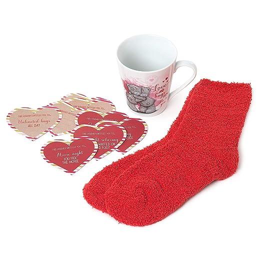 Me to You Tatty Teddy Night Set de regalo Mug, calcetines ...