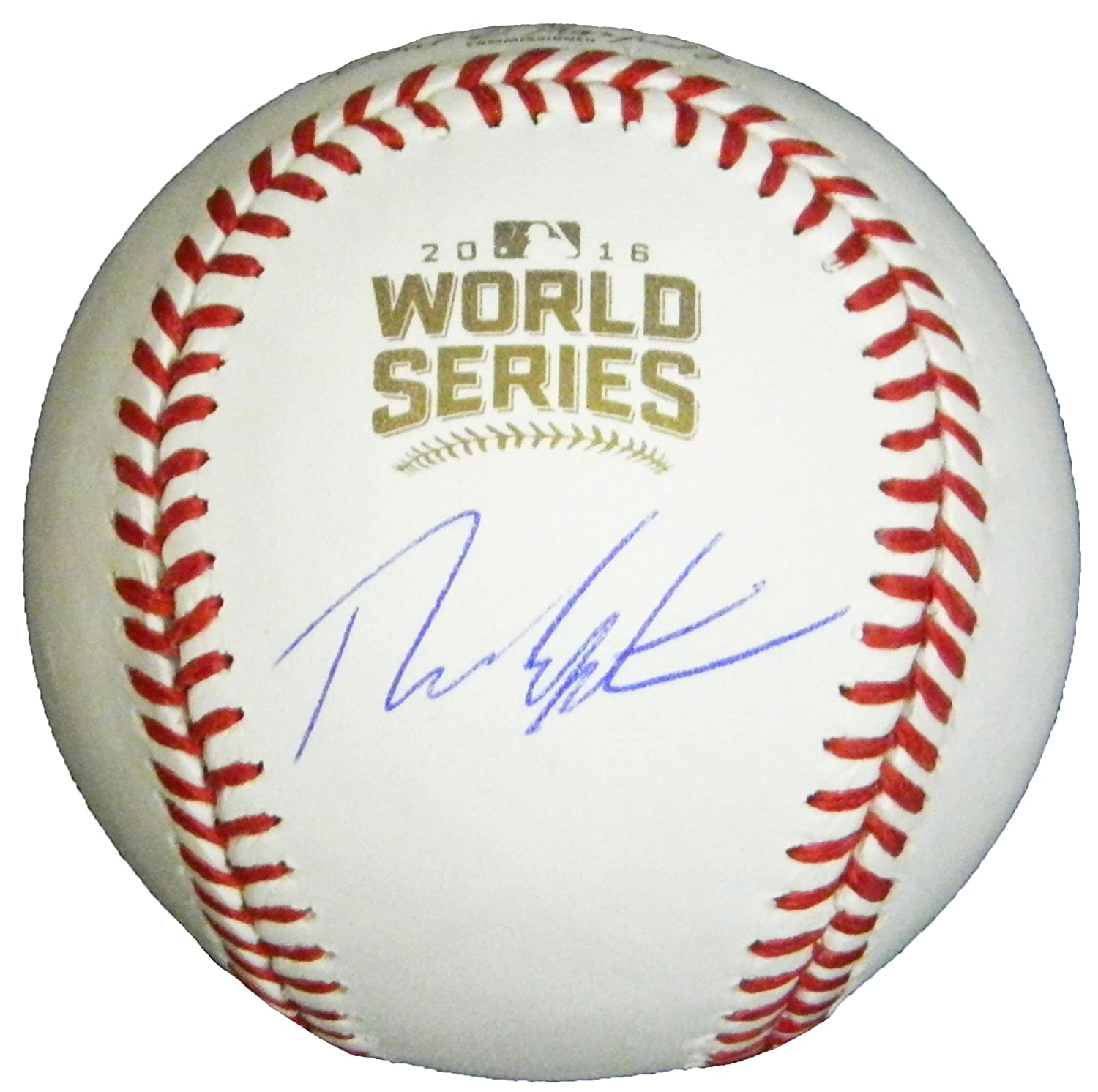 Theo Epstein Signed Rawlings Official 2016 World Series Baseball