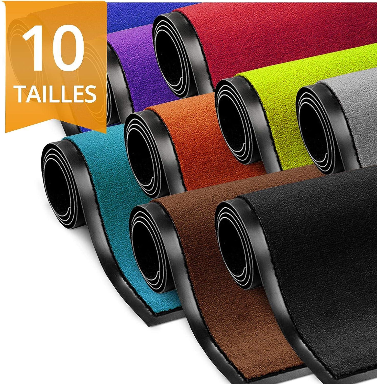 7 40x60 cm Surui Paillasson Paillasson lavable et antid/érapant pour int/érieur et ext/érieur